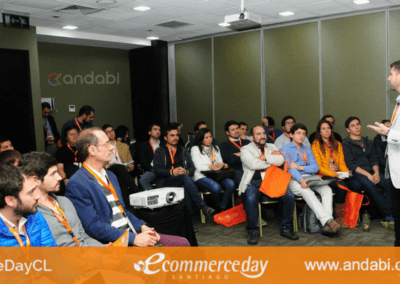 60 Profesionales presentes Analytics Ecommerce edaycl 2017